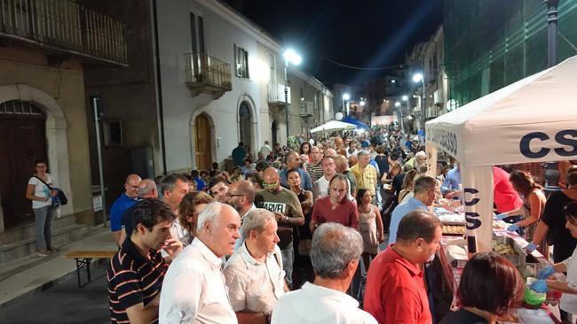 festa del pomodoro a Montagano
