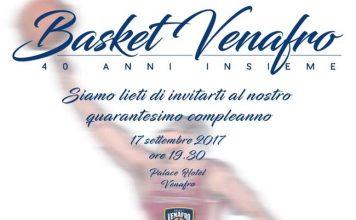 Basket Venafro compie 40 anni