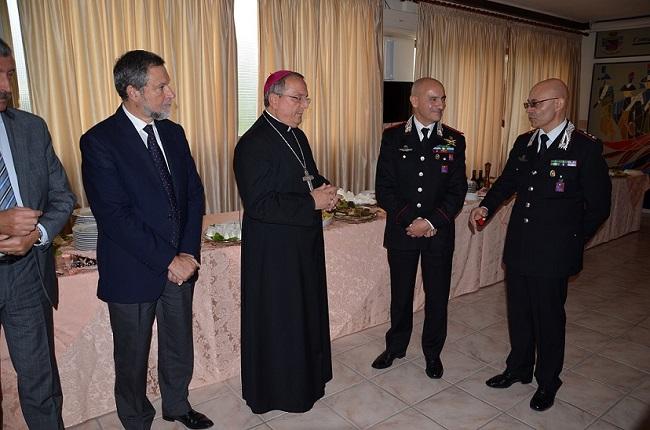 Isernia, il Comando Carabinieri ringrazia il Tenente Cuccuini