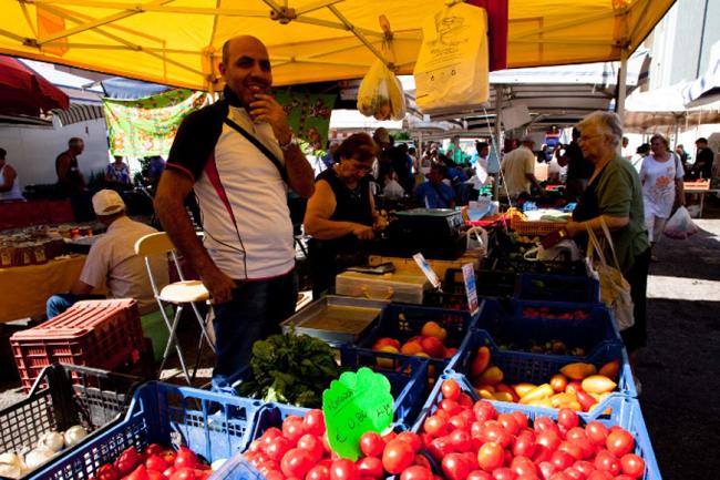 mercato a Termoli