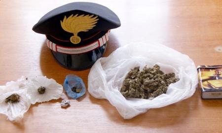 Isernia, marijuana nella busta di patatine: fermato un 20enne