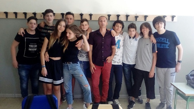 studenti della IISS Alfano