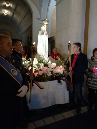 Campobasso Madonna di Fatima
