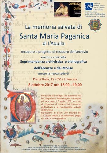 Domenica di carta, resoconto recupero Santa Maria Paganica-L'Aquila