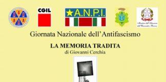 La memoria tradita Trivento 28.10.2017