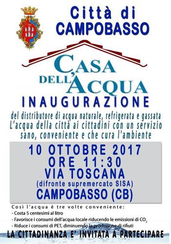 Manifesto Inaugurazione Campobasso