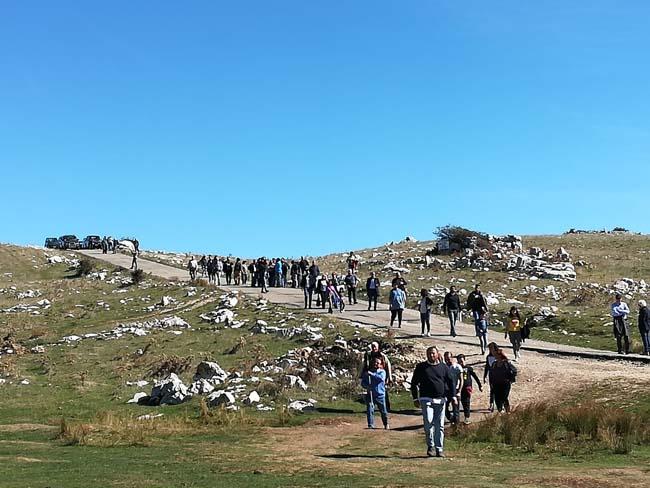 Monti del Matese a Morcone