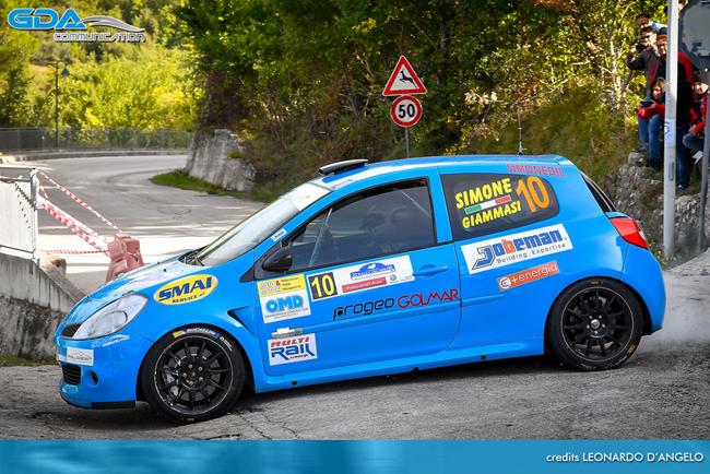 Rally del Molise, debutto sfortunato ma positivo per Biase
