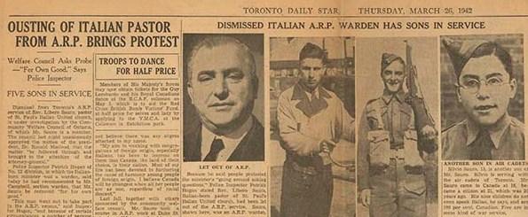 articolo del Toronto Daily Star