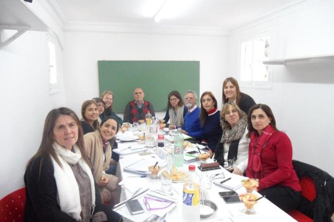 lo staff direttivo del CCI di Buenos Aires