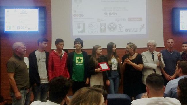 premiazione I.I.S.S. Alfano da Termoli