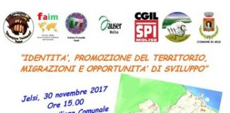 Promozione del Territorio - Jelsi 30.11.2017