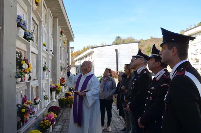 foto commemorazione defunti Carabinieri