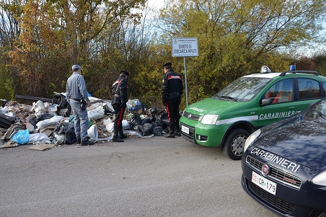 foto sequestro rifiuti Isernia