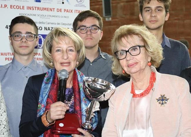 premiazione dell'I.I.S.S. Alfano