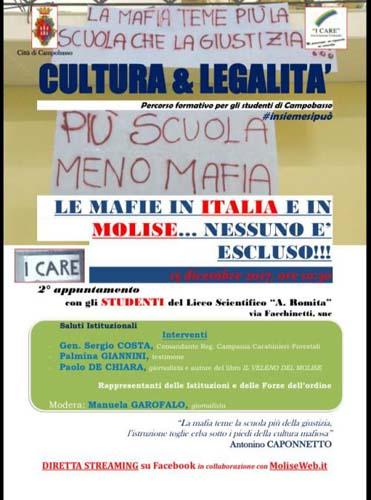 Le Mafie in Italia e in Molise…nessuno escluso