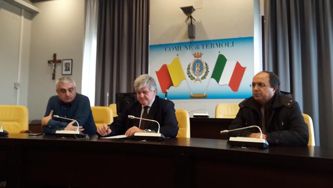 Termoli, presentazione di due nuove rotatorie in città