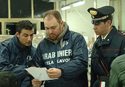foto Carabinieri tutela lavoro