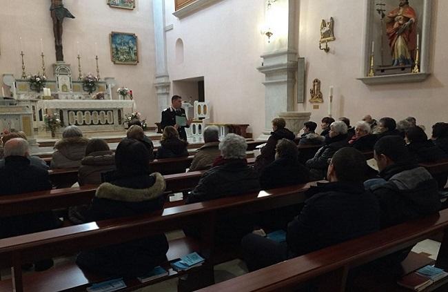 San Pietro Avellana, prevenzione truffe: incontro Carabinieri-anziani