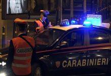 Carabinieri servizio notturno