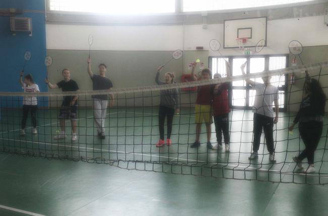 Termoli, badminton: percorso didattico all'I.I.S.S. Alfano