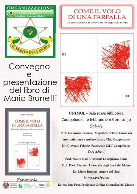 Convegno e presentazione del libro del Prof. Brunetti a Campobasso