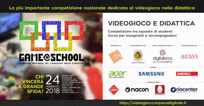 Game@School: il 24 febbraio all'Istituto Pilla di Campobasso