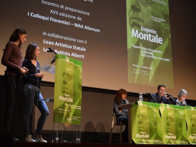 Colloqui Fiorentini, presenti anche gli studenti dell'Istituto Alfano