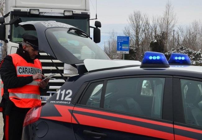 Venafro, emergenza neve: non rispettano il divieto di circolazione, multati tre conducenti di tir