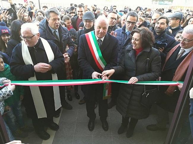 Campobasso, scuola: inaugurata la nuova sede della Montini