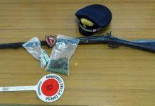 sequestro droga e fucile