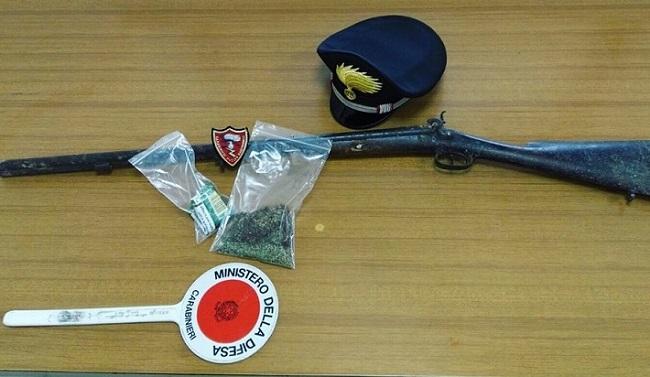 Agnone, deteneva droga a armi illegalmente: denunciato 30enne