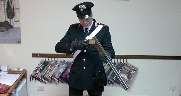 Filignano, controlli nei casolari abbandonati: trovato un fucile