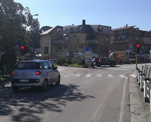 Isernia, controlli stradali: multati venti automobilisti