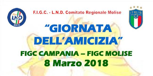 Giornata dell'amicizia oggi con i comitati FIGC di Campania e Molise