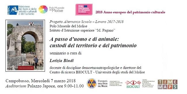 A passo d'uomo e di animale: seminario il 7 marzo a Campobasso