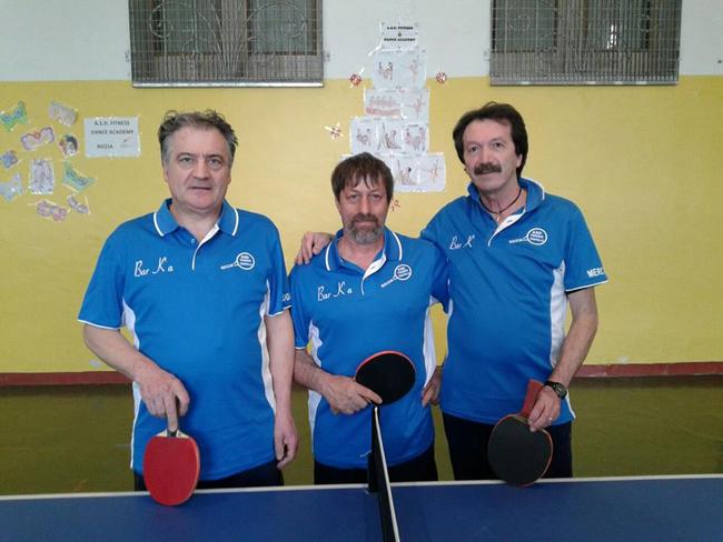 Tennistavolo, C2/M: Campobasso e Isernia si contendono la vetta