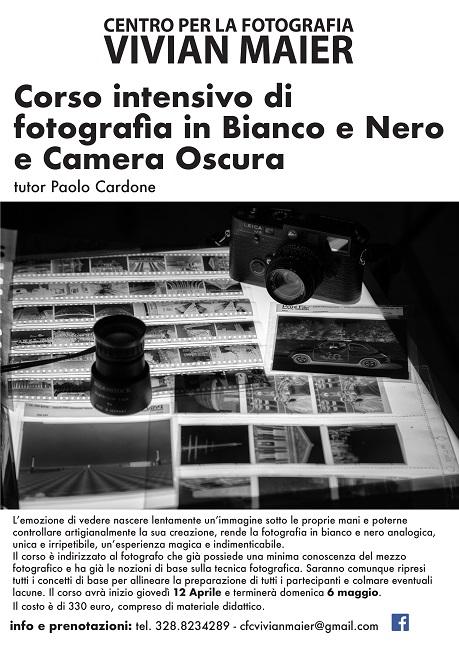 Corso intensivo di fotografia dal 12 aprile a Campobasso