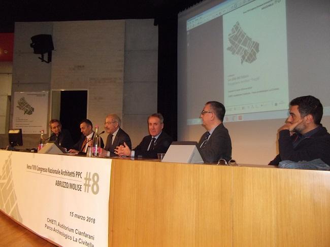 L'importanza delle città del futuro, gli ordini professionali riuniti a Chieti