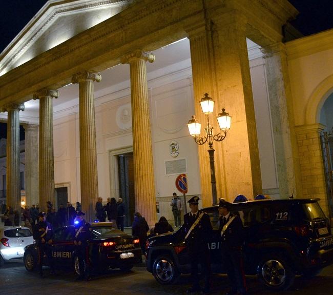 Isernia Cabinieri pattuglie piedi festività pasquali
