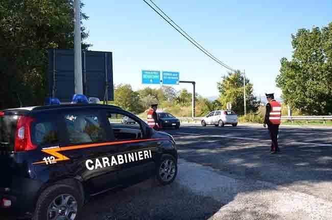 Colli al Volturno, alla guida di un'auto posta sotto sequestro: denunciato 55enne
