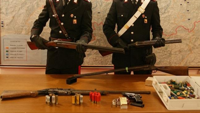 Isernia rispetto norme detenzione armi tre persone denunciate