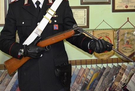 Monteroduni detenzione illegale arma