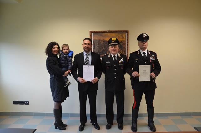 Venafro, riconoscimenti per due militari distintisi in attività di servizio
