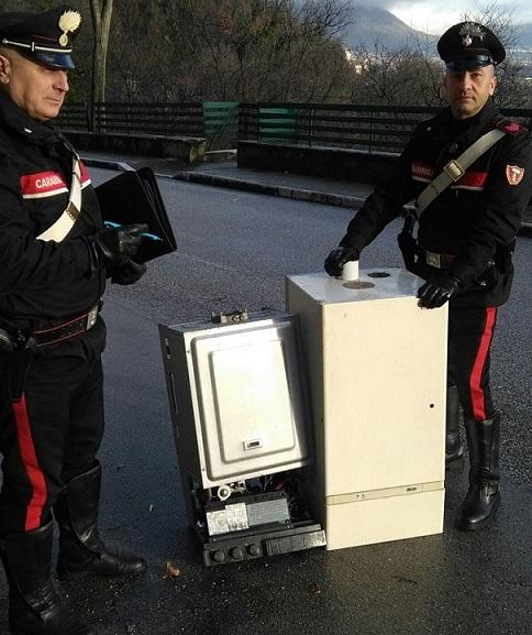 Pozzilli, furto di caldaie e materiale idraulico: fermato pregiudicato