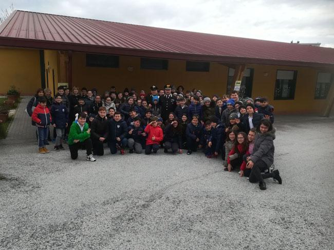 Incontro dei Carabinieri con gli studenti del San Lazzaro di Isernia
