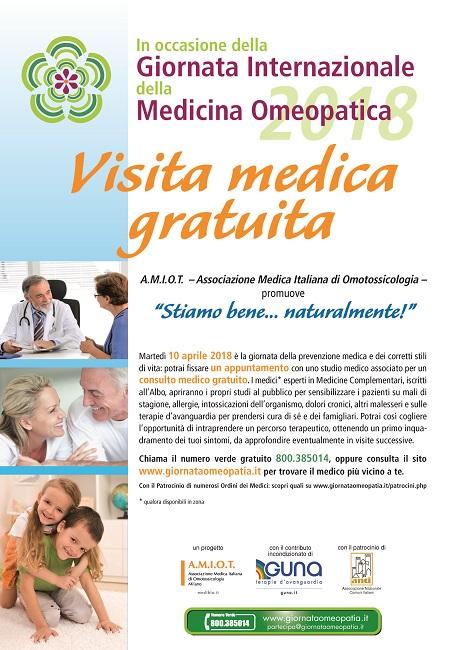 Giornata Internazionale della Medicina Omeopatica: consulti gratuiti a Isernia