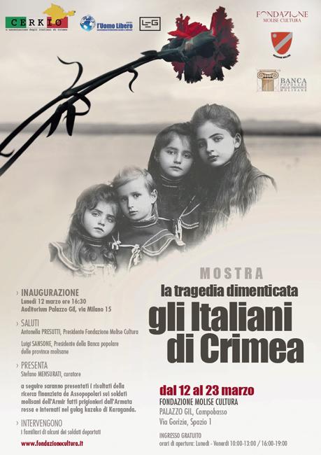 Gli Italiani di Crimea, mostra di Mensurati a Campobasso