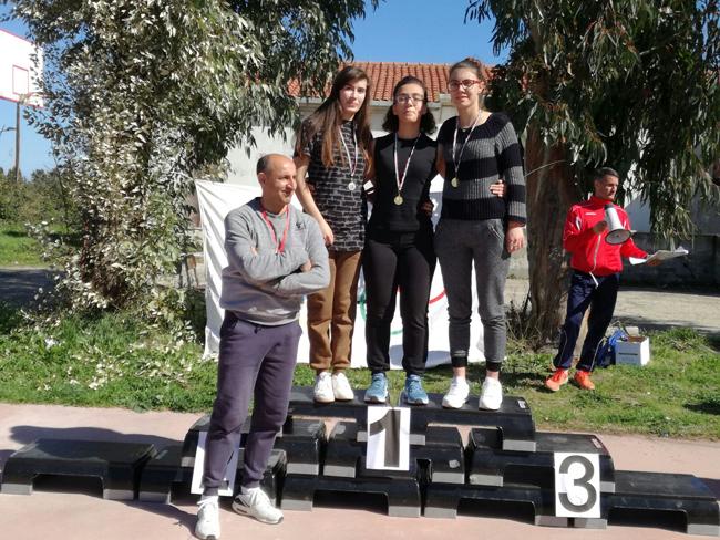 Termoli, corsa campestre: tante medaglie per l'IISS Alfano