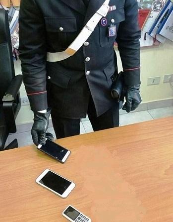 Carpinone, possesso ingiustificato di smartphone: nei guai 4 pregiudicati